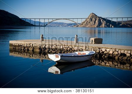 Bridge To Island Krk