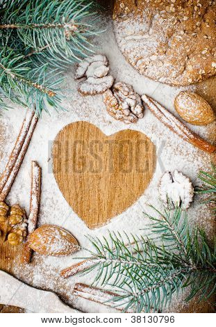 Christmas And Holiday Baking, Ready Template