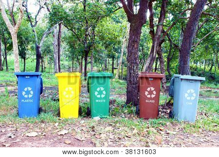Five Colors Recycle Bin