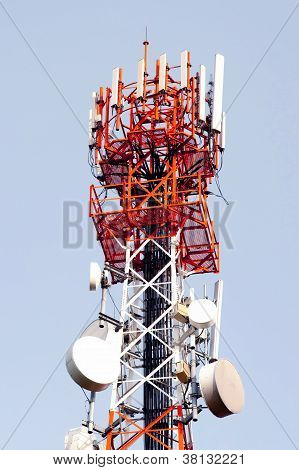 Telecommunication, Broadcasting tower