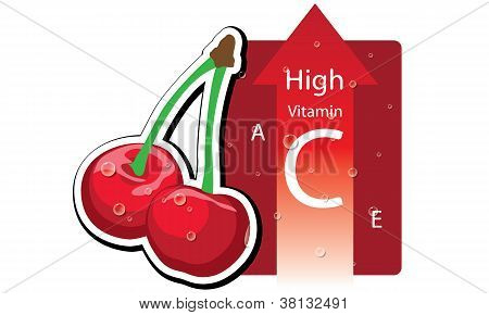 Cherry high vitamin C