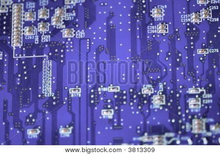 blau Circuit board