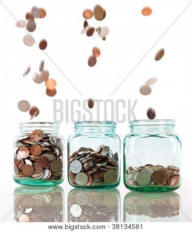 Concepto de ahorro