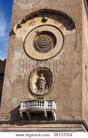 Mantova - Clock Tower - Italy