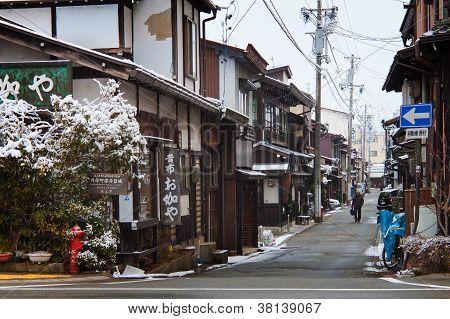 Sannomachi rua Japão de Hida Takayama