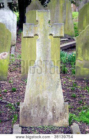 Vintage Grave Marker