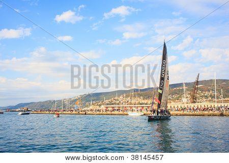 Barcolana Regatta, 4 Place: Aniene 1A Classe Lino Sonego Tutti X Ais