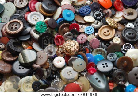 Vintage Clothes Buttons