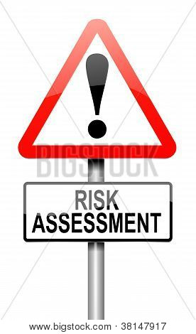 Risk Assessment Concept.