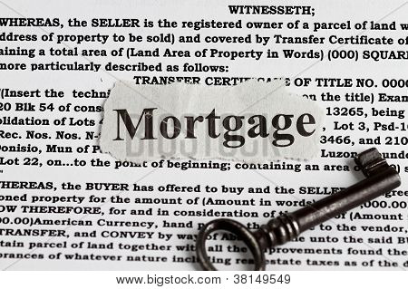 Palabra de hipoteca