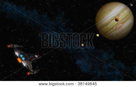 Fly To Jupiter