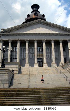 Admiring Her Capitol