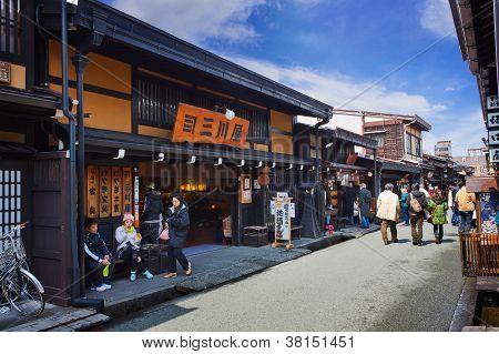 Sannomachi Street Hida Takayama Japan