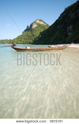 Calm Beach On Mu Ko Angthong Island