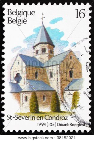 Postage stamp Belgium 1994 Church of Church of Sts. Peter and Pa
