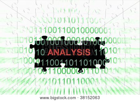 Analysis Puzzle Concept