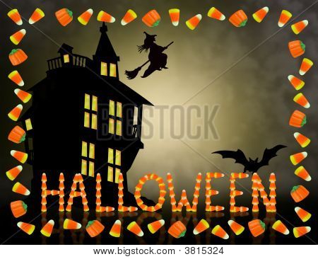 Halloween Background Sweet And Scary