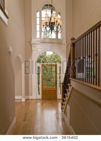 Luxury Home Entranceway Corridor