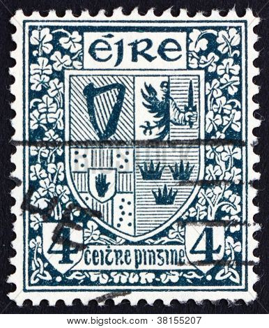 Postage stamp Ireland 1923 Coat of Arms, Ireland