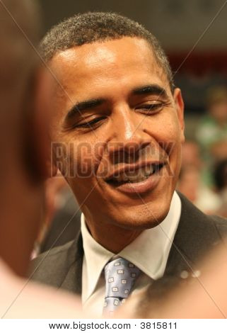 Barack Obama Closeup