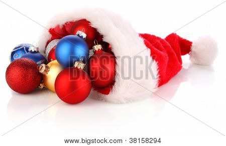 Christmas Santa Hat Full Of Presents