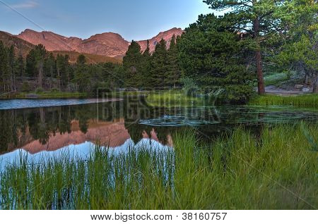 Spraque Lake Colorado - Sunrise