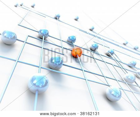 Network and internet concept