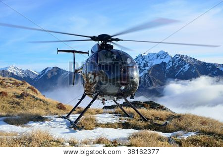 Flying In The Alps