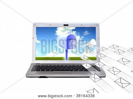 Electronic Mail (email) Concept