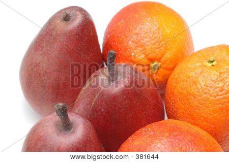 Pears And Oranges