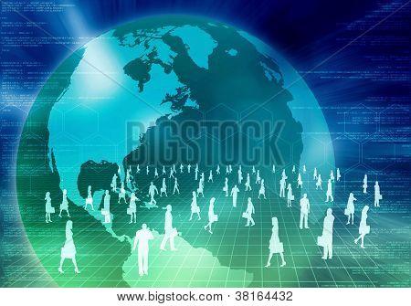 Internet Business Concept