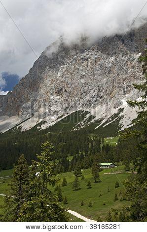 At the Ehrwalder Alp Tyrol Austria