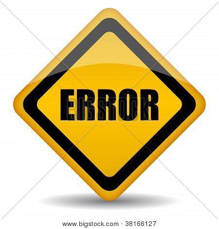 Vector error sign