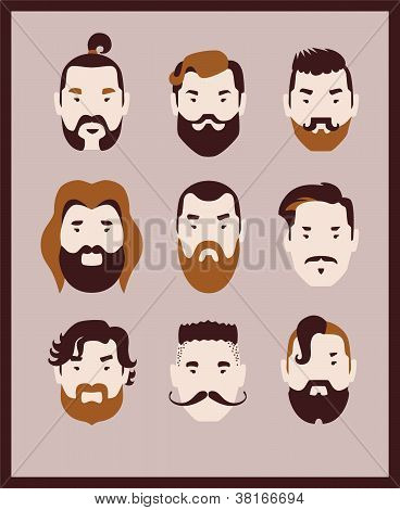 barber's icons