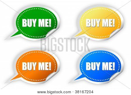 Buy me stickers set