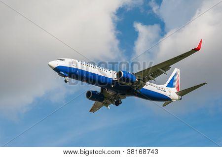Transaero Boeing 737