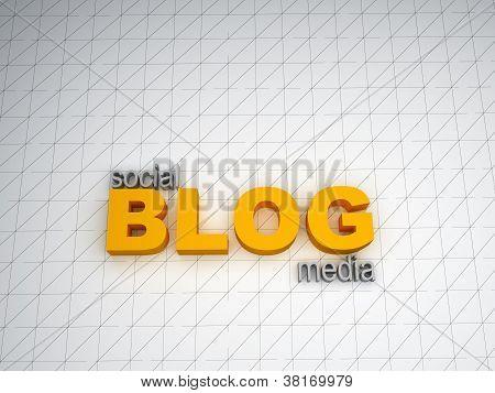 Social Media Blog Text