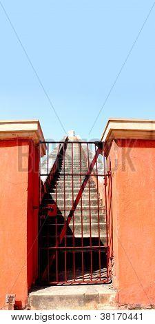 Jantar Mantar Stairs