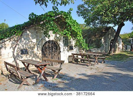 Wine Cellars,Burgenland,Austria