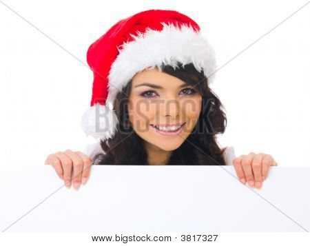 Christmas Chick With Board