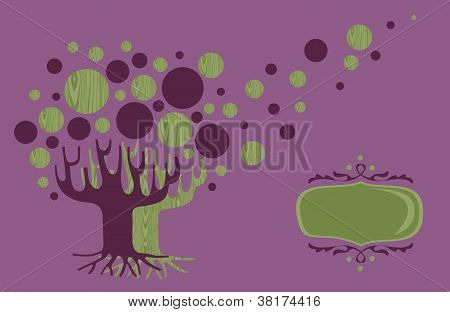 Global Diversity Tree Greeting Card
