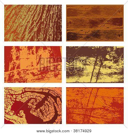 Wood Textures Set