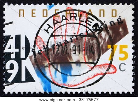 Postage stamp Netherlands 1991 General Strike
