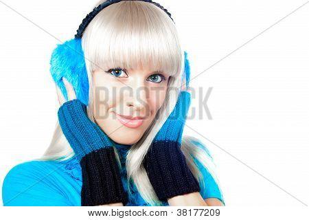 Beautiful Winter Blonde