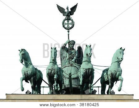 Four Horse On Brandenburg Gate
