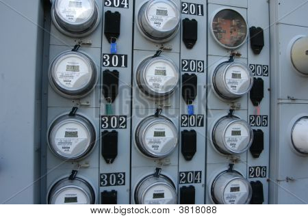 Electric Service Meters