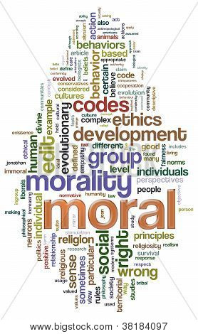 Moral Wordcloud