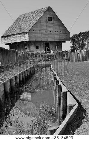 Fort King George in Darien