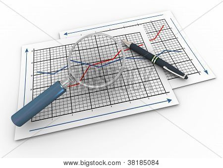 3D Magnifier And Graph