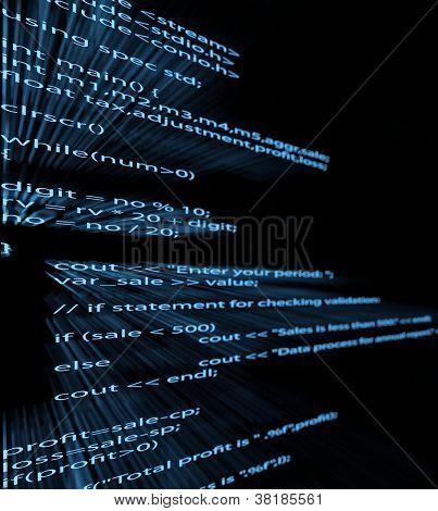 Código de programa de computador